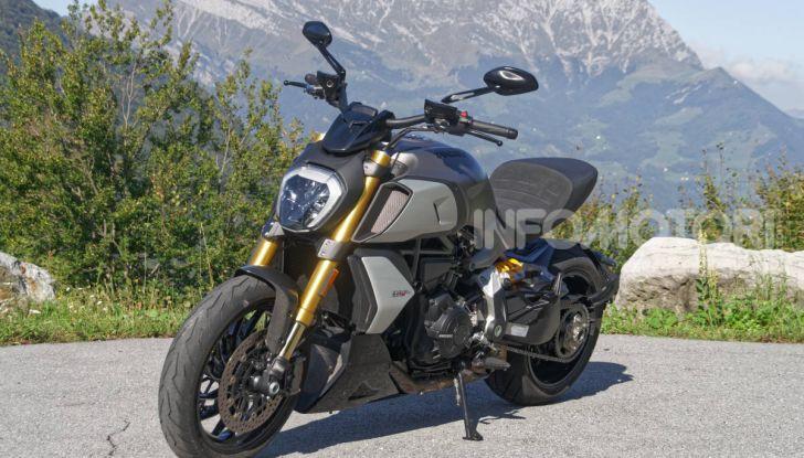 Ducati Diavel 1260S design estetica