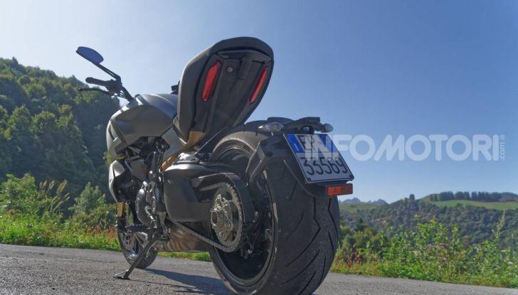 Ducati Diavel 1260S ciclistica raffinata
