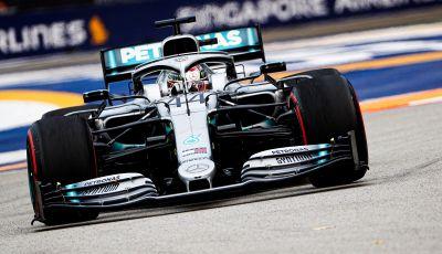 F1 2019, GP di Singapore: Lewis Hamilton al top nelle libere davanti a Verstappen e Vettel