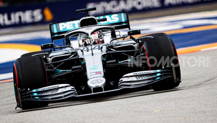 F1 2019, GP di Singapore: Lewis Hamilton al top nelle libere davanti a Verstappen e Vettel - Foto 6 di 15