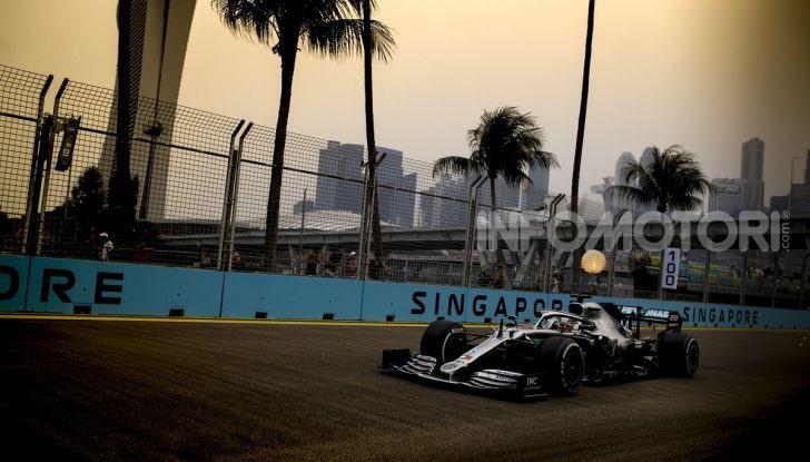 F1 2019, GP di Singapore: Lewis Hamilton al top nelle libere davanti a Verstappen e Vettel - Foto 9 di 15
