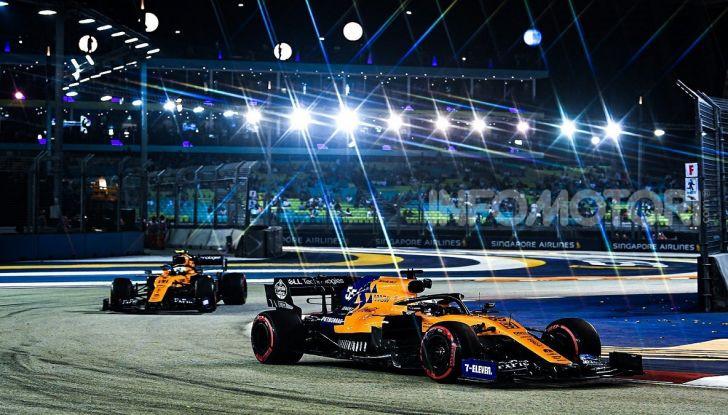 F1 2019, GP di Singapore: Lewis Hamilton al top nelle libere davanti a Verstappen e Vettel - Foto 13 di 15