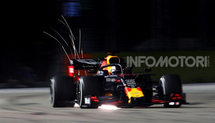 F1 2019, GP di Singapore: Lewis Hamilton al top nelle libere davanti a Verstappen e Vettel - Foto 11 di 15