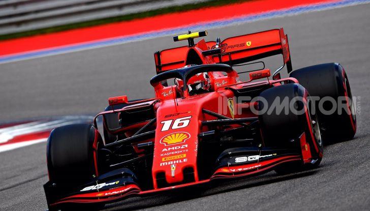F1 2019, GP di Russia: Hamilton è lo Zar di Sochi e la Mercedes fa doppietta, solo terzo Leclerc - Foto 6 di 13