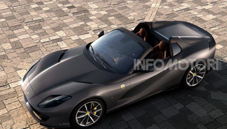 Ferrari 812 GTS, la spider con motore V12 da 800CV - Foto 20 di 21