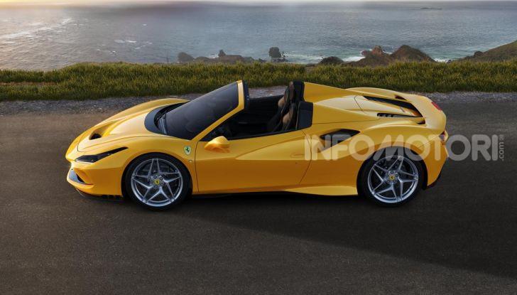 Ferrari F8 Spider: l'urlo dei 720CV a cielo aperto - Foto 12 di 16