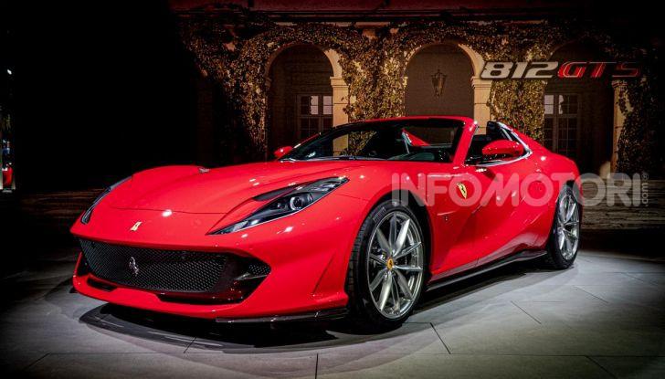 Ferrari 812 GTS, la spider con motore V12 da 800CV - Foto 2 di 21