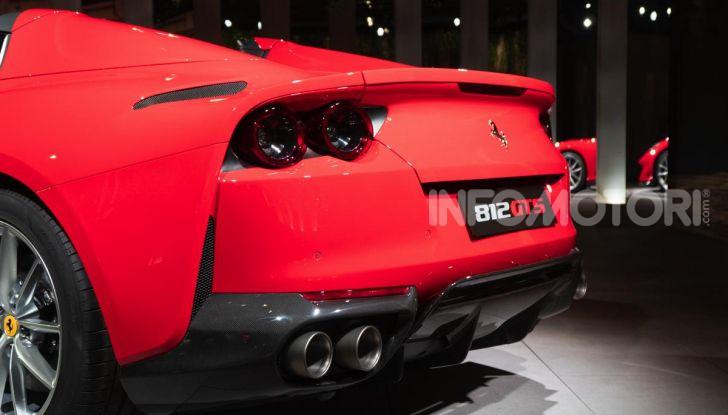 Ferrari 812 GTS, la spider con motore V12 da 800CV - Foto 9 di 21