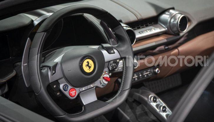 Ferrari 812 GTS, la spider con motore V12 da 800CV - Foto 8 di 21