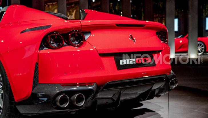 Ferrari 812 GTS, la spider con motore V12 da 800CV - Foto 14 di 21