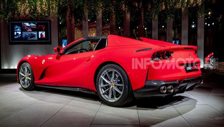 Ferrari 812 GTS, la spider con motore V12 da 800CV - Foto 3 di 21
