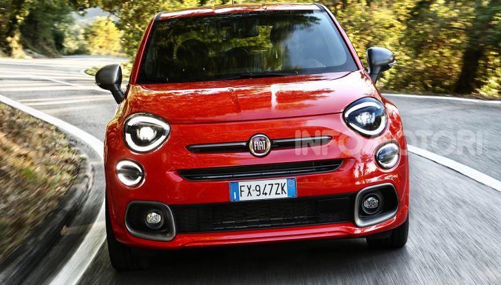 Fiat 500X Sport: prova su strada, motori e prestazioni - Foto 9 di 10