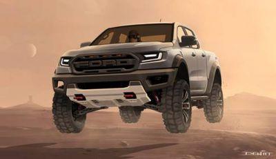 Milan Games Week 2019, un Ford Raptor su Forza Horizon 4