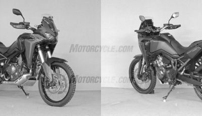 Nuova Honda Africa Twin CRF 1100 L: sale la potenza, cala il peso