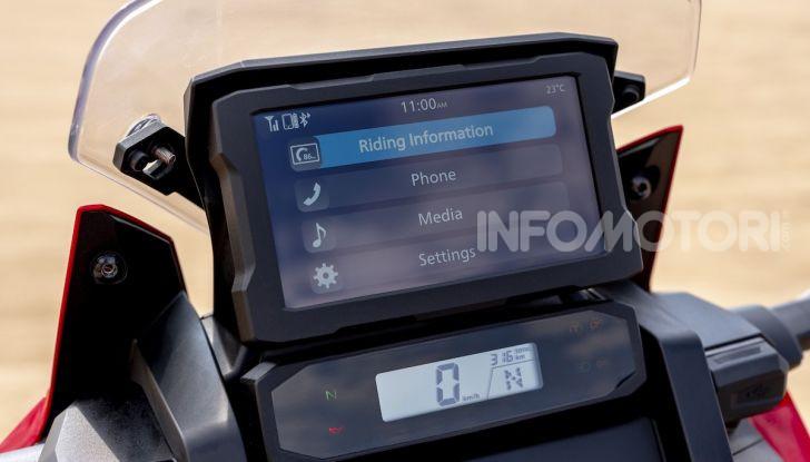 Honda Africa Twin 1100 2020: due versioni, più potenza, nuovo stile ed Euro 5 - Foto 23 di 35