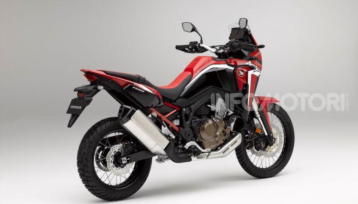 Honda Africa Twin 1100 2020: due versioni, più potenza, nuovo stile ed Euro 5 - Foto 34 di 35