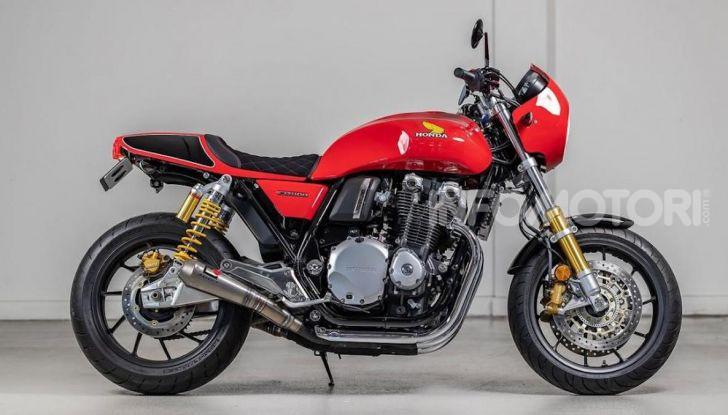 Honda CB1100RS 5Four: special nelle linee e nei numeri - Foto 1 di 5