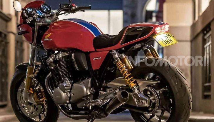 Honda CB1100RS 5Four: special nelle linee e nei numeri - Foto 2 di 5