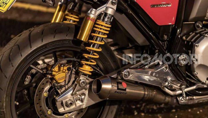 Honda CB1100RS 5Four: special nelle linee e nei numeri - Foto 5 di 5