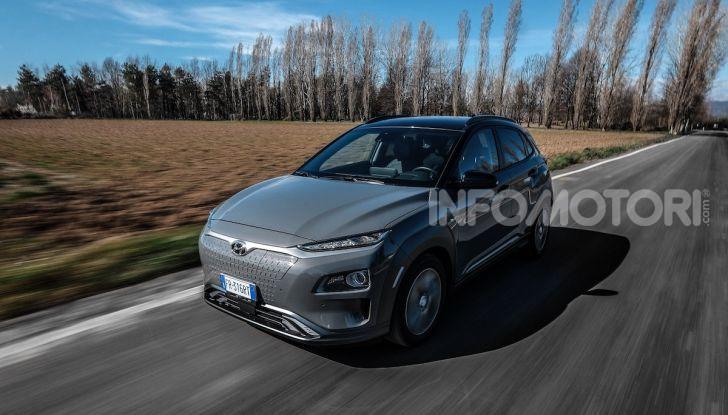 Hyundai Kona Electric: il SUV compatto a zero emissioni a 299€ al mese - Foto 1 di 4