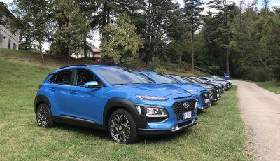 Hyundai Kona Hybrid, prezzi e prestazioni del SUV compatto