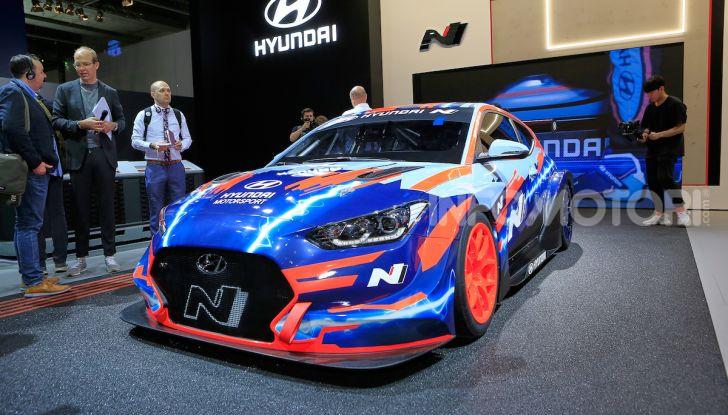 Hyundai Veloster N ETCR: l'elettrica da corsa per il Mondiale Turismo a zero emissioni - Foto 4 di 12