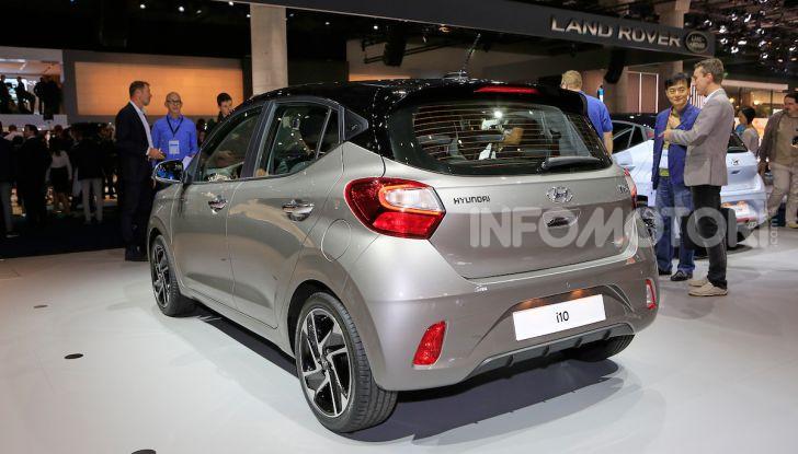 Nuova Hyundai i10 2020: la citycar sportiva e tecnologica - Foto 12 di 13