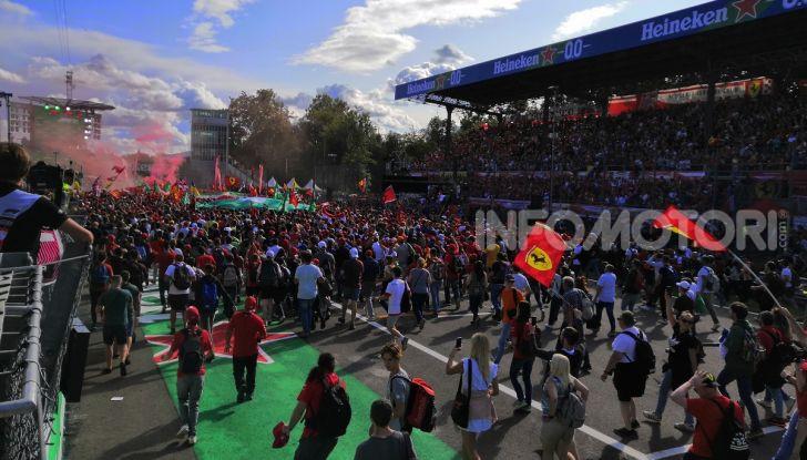 F1: l'Autodromo di Monza diventa un cinema drive-in - Foto 100 di 103