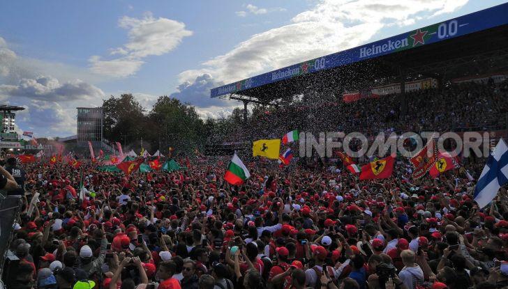 F1 2019, GP d'Italia: back-to-back di Leclerc a Monza, la Ferrari torna in vetta dopo nove anni di astinenza - Foto 101 di 103