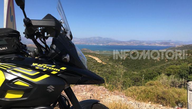 Viaggi in moto, Grecia: il giro del Peloponneso con una Suzuki V-Strom 1000 XT - Foto 29 di 43