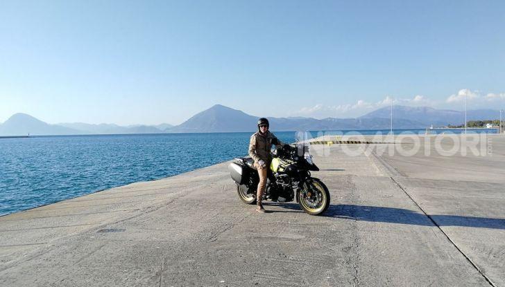 Viaggi in moto, Grecia: il giro del Peloponneso con una Suzuki V-Strom 1000 XT - Foto 41 di 43