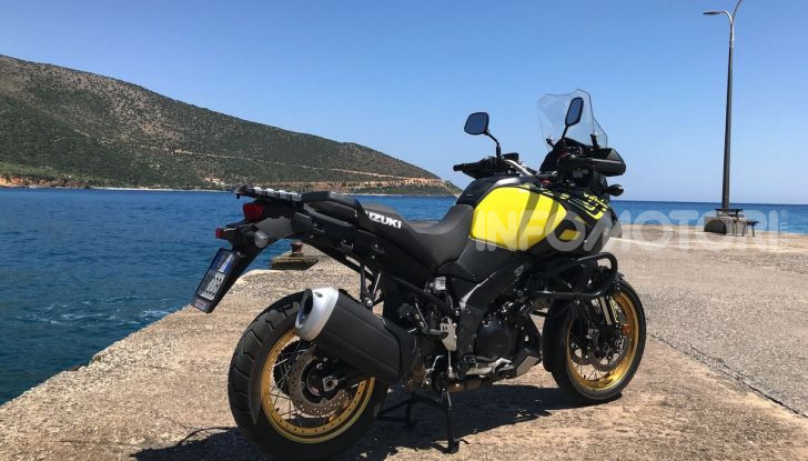 Viaggi in moto, Grecia: il giro del Peloponneso con una Suzuki V-Strom 1000 XT - Foto 17 di 43