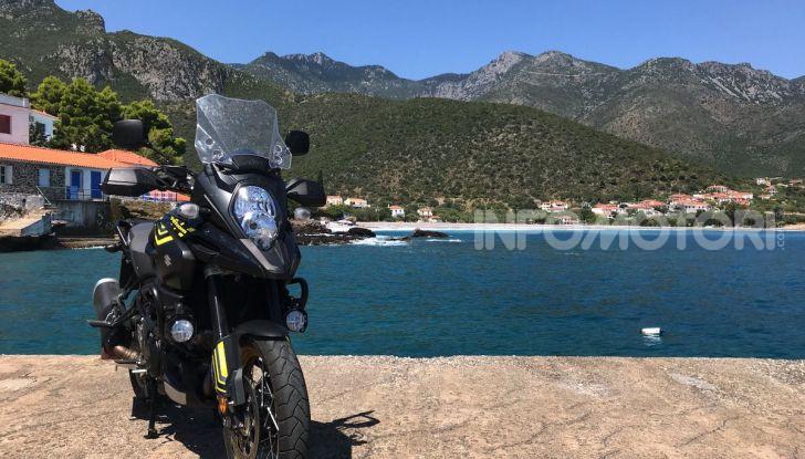 Viaggi in moto, Grecia: il giro del Peloponneso con una Suzuki V-Strom 1000 XT - Foto 21 di 43