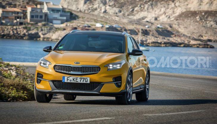 Prova SUV Kia XCeed: La quadratura del cerchio - Foto 33 di 42