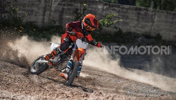KTM lancia la minicross elettrica SX-E 5 - Foto 2 di 5