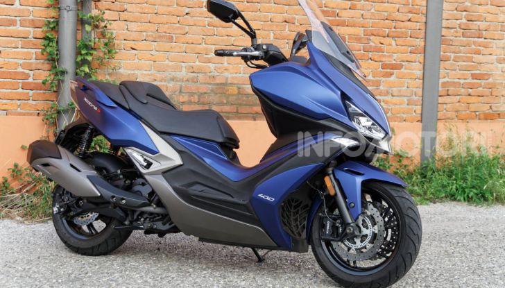 Kymco Xciting 400i s design