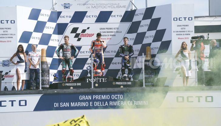 MotoGP 2019: Marquez vince a Misano in volata su Quartararo, terzo Vinales davanti a Rossi - Foto 27 di 35