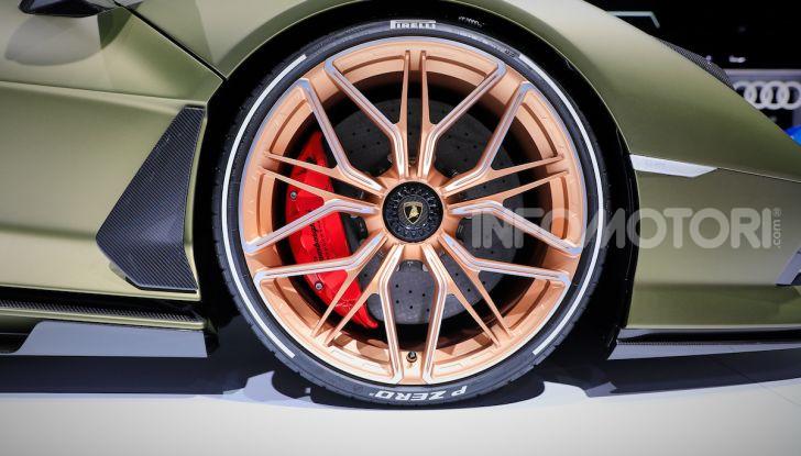 Lamborghini Sian: l'ibrida di Sant'Agata è un fulmine da 819CV - Foto 17 di 45