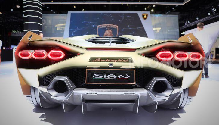 Lamborghini Sian: l'ibrida di Sant'Agata è un fulmine da 819CV - Foto 30 di 45