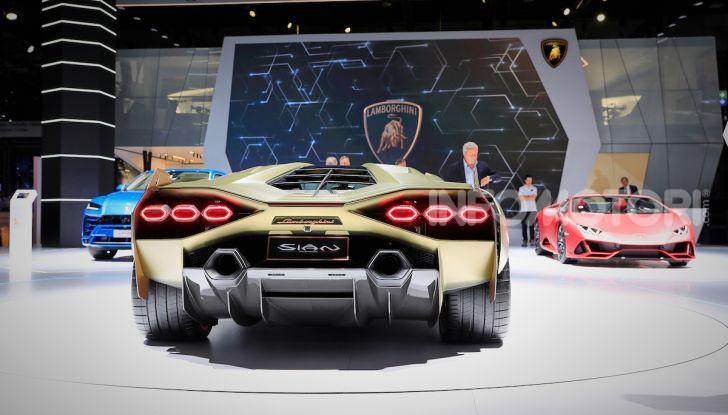 Lamborghini Sian: l'ibrida di Sant'Agata è un fulmine da 819CV - Foto 3 di 45