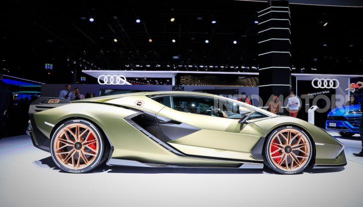 Lamborghini Sian: l'ibrida di Sant'Agata è un fulmine da 819CV - Foto 2 di 45