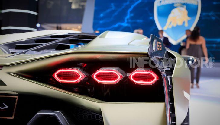 Lamborghini Sian: l'ibrida di Sant'Agata è un fulmine da 819CV - Foto 4 di 45