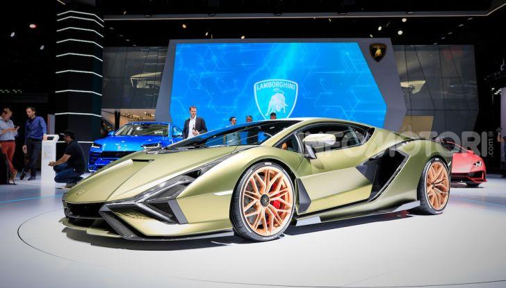 Lamborghini Sian: l'ibrida di Sant'Agata è un fulmine da 819CV - Foto 1 di 45