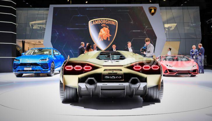 Lamborghini Sian: l'ibrida di Sant'Agata è un fulmine da 819CV - Foto 6 di 45