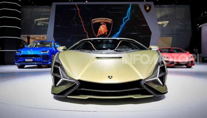 Lamborghini Sian: l'ibrida di Sant'Agata è un fulmine da 819CV - Foto 26 di 45