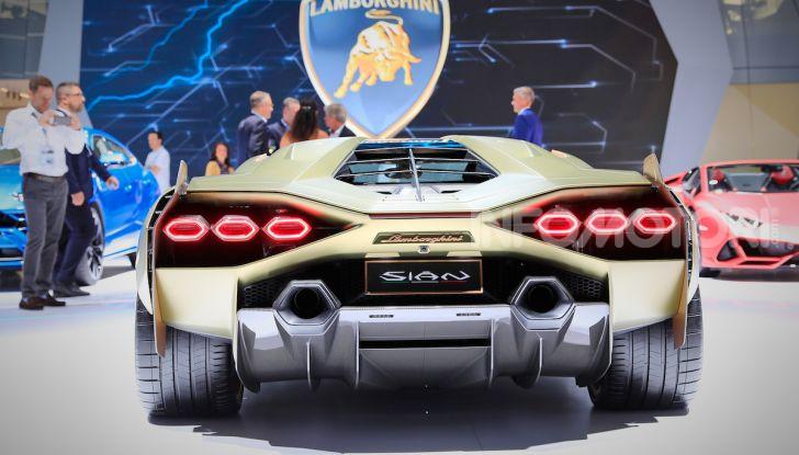 Lamborghini Sian: l'ibrida di Sant'Agata è un fulmine da 819CV - Foto 27 di 45