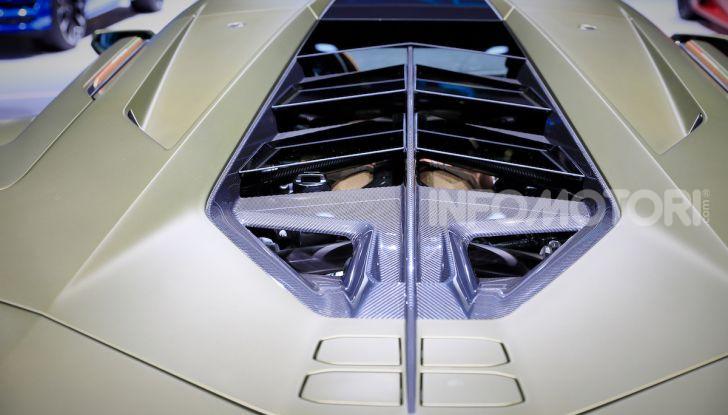 Lamborghini Sian: l'ibrida di Sant'Agata è un fulmine da 819CV - Foto 10 di 45