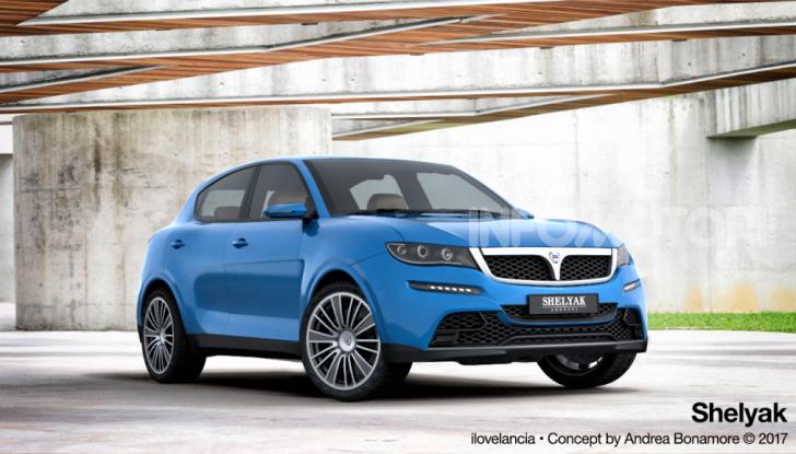 Lancia Urban SUV, il modello che rilancerebbe il marchio - Foto 5 di 5