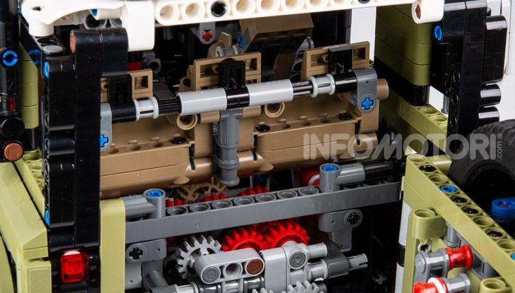 Land Rover Defender LEGO Technic in vendita dal 1 ottobre a 179€ - Foto 12 di 13