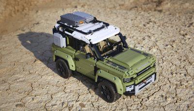 Land Rover Defender LEGO Technic in vendita dal 1 ottobre a 179€